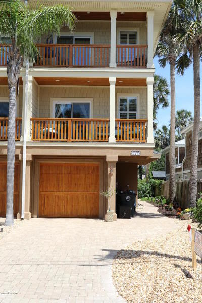 Atlantic Beach Townhouse For Sale: 307 9th St