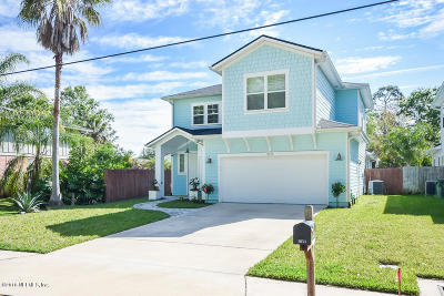 Jacksonville Beach Single Family Home For Sale: 3671 America Ave