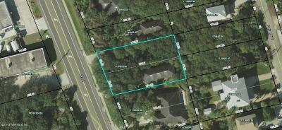 St Augustine Residential Lots & Land For Sale: 5318 A1a S