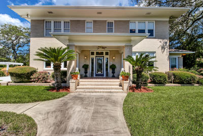 Jacksonville Single Family Home For Sale: 3903 St Johns Ave