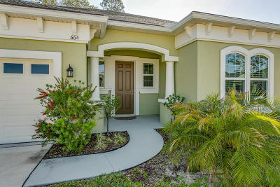 Single Family Home For Sale: 664 Montiano Cir