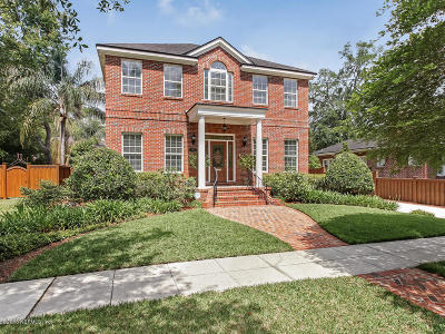 Jacksonville Single Family Home For Sale: 1423 Avondale Ave