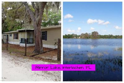 Interlachen FL Mobile/Manufactured For Sale: $90,000