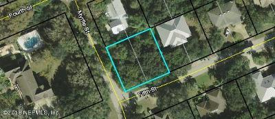 St Augustine Residential Lots & Land For Sale: Myrtle St