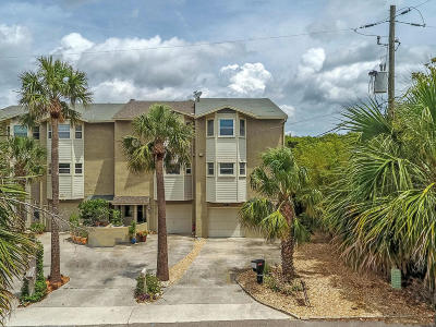 Atlantic Beach Townhouse For Sale: 59 Coral St
