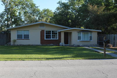 St Augustine Single Family Home For Sale: 260 Cervantes Ave