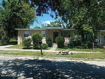 Jacksonville Single Family Home For Sale: 1957 W 20th St