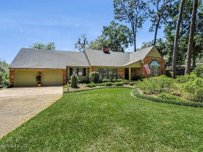 Jacksonville Single Family Home For Sale: 9652 Beauclerc Bluff Rd
