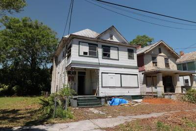Jacksonville Single Family Home For Sale: 209 E 17th St