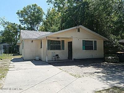 Jacksonville FL Single Family Home For Sale: $92,900