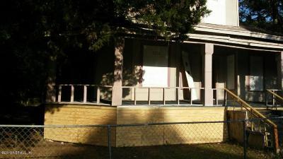Jacksonville FL Single Family Home For Sale: $28,000