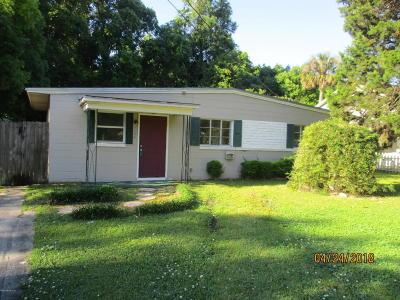 Starke Single Family Home For Sale: 1104 W Pratt St