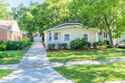 Jacksonville Single Family Home For Sale: 4617 College St