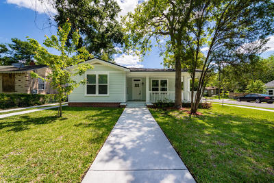 Jacksonville Single Family Home For Sale: 721 Ralph St