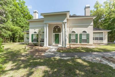 Jacksonville Single Family Home For Sale: 12505 Sampson Rd