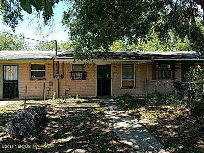 Jacksonville Townhouse Contingent Take Backup: 4641 Wrico Dr