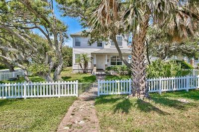 Vilano Beach Single Family Home For Sale: 216 Boating Club Rd