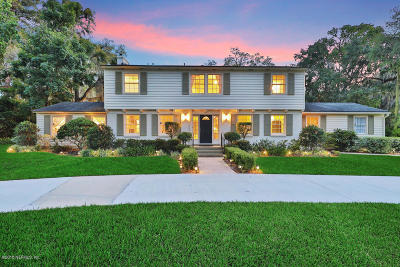 Jacksonville Single Family Home For Sale: 9114 Beauclerc Cir E