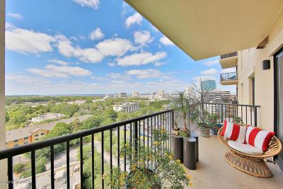 Duval County Condo For Sale: 1478 Riverplace Blvd #1201