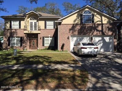 Jacksonville Beach Single Family Home For Sale: 1203 Arden Way