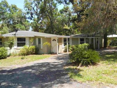 St. Johns County Single Family Home For Sale: 4230 Carter Rd