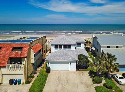 Neptune Beach Single Family Home For Sale: 1820 Ocean Front