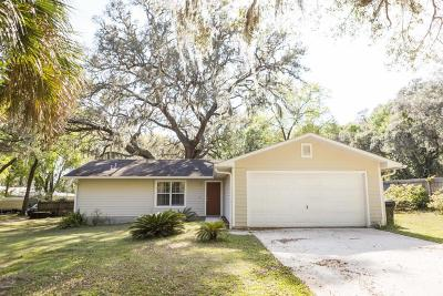 Clay County Single Family Home For Sale: 11 Nelsons Point