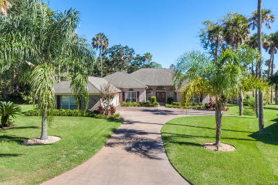 St. Johns County Single Family Home For Sale: 1161 Salt Creek Dr