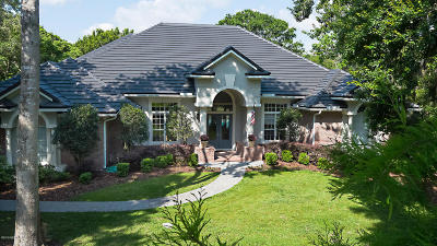 St. Johns County Single Family Home For Sale: 161 Plantation Cir S