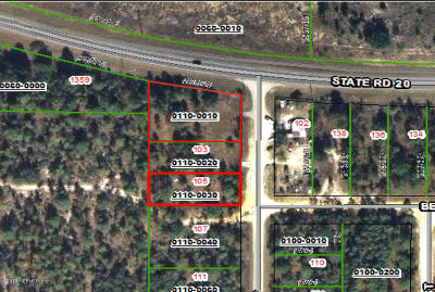 Interlachen FL Commercial For Sale: $125,000