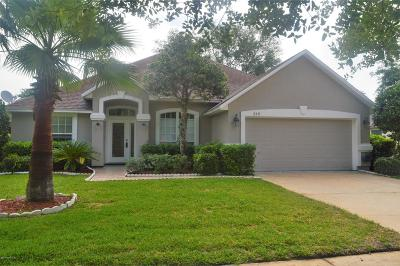 Duval County, St. Johns County Single Family Home For Sale: 312 W Silverthorn Ln