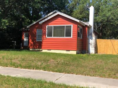 Duval County Single Family Home For Sale: 2262 Bayview Rd
