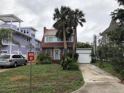 Atlantic Beach, Neptune Beach, Jacksonville Beach, Ponte Vedra Beach, Fernandina Beach Single Family Home For Sale: 3516 1st St S