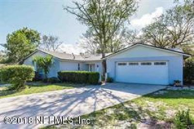 St. Johns County Single Family Home For Sale: 971 Viscaya Blvd