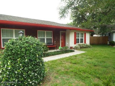 Jacksonville FL Single Family Home For Sale: $179,000