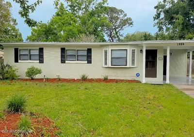 St. Johns County Single Family Home For Sale: 1329 Francis St
