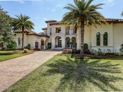 Ponte Vedra Beach FL Single Family Home For Sale: $2,100,000