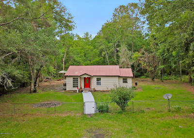 Duval County Single Family Home For Sale: 13319 Old Plank Rd