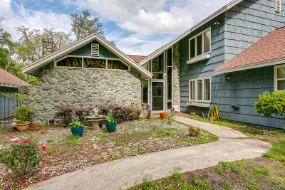 Single Family Home For Sale: 1954 Old Trail Rd