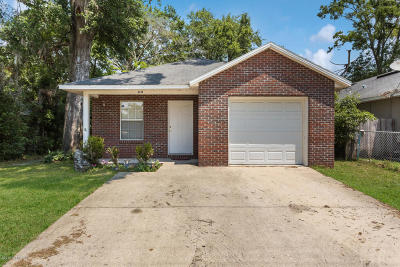 Jacksonville Single Family Home For Sale: 8249 Susie St