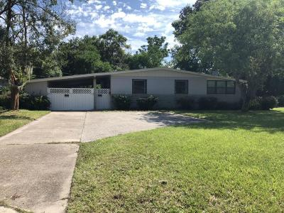 Jacksonville Single Family Home For Sale: 2803 Holly Point Dr