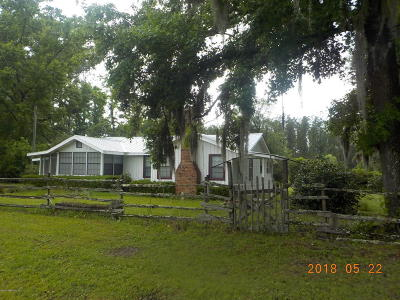 Bryceville FL Single Family Home For Sale: $219,000