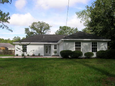 Jacksonville FL Single Family Home For Sale: $172,500