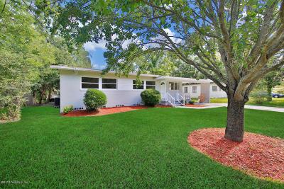 Jacksonville Single Family Home For Sale: 6421 Burgundy Rd S