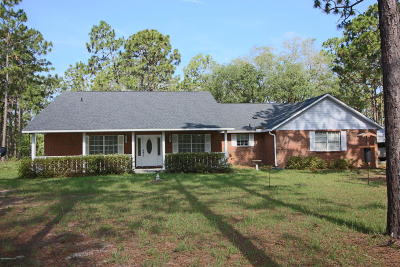 Clay County Single Family Home For Sale: 7750 Ranchette Rd