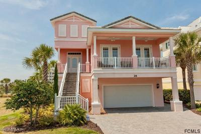 Flagler County Single Family Home For Sale: 26 Cinnamon Beach Pl