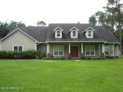 Starke Single Family Home For Sale: 5178 NW 180th Way