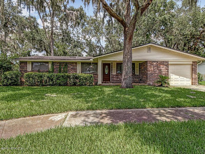 Jacksonville Beach Single Family Home For Sale: 2603 Independence Dr