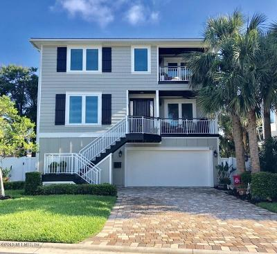 Jacksonville Beach Single Family Home For Sale: 55 28th Ave S