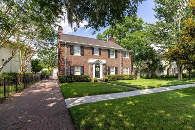 Jacksonville Single Family Home For Sale: 1487 Edgewood Ave S